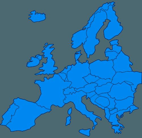Carte Europe Pays Bas.Cartes De L Europe Et Informations Sur Le Continent Europeen