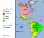 langues des pays d'Amérique