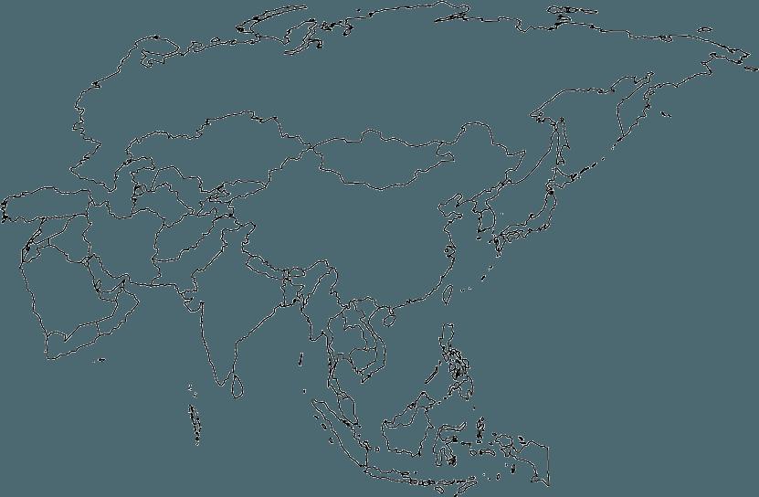 Fond Carte Asie Centrale.Cartes De L Asie Et Informations Sur Le Continent Asiatique