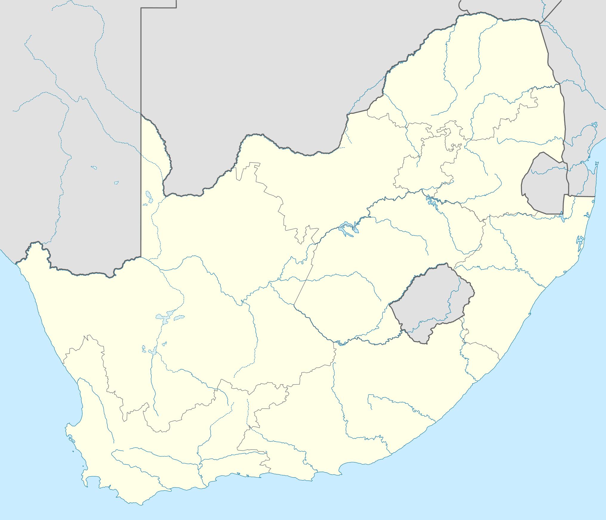 afrique du sud   informations g u00e9ographiques et cartes