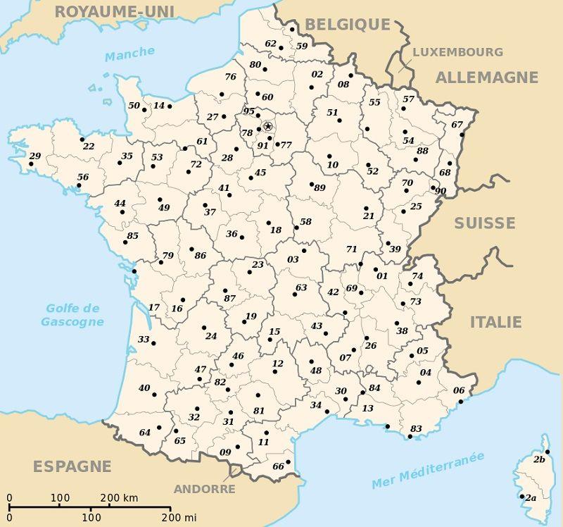 France : informations sur le pays, cartes et drapeau français