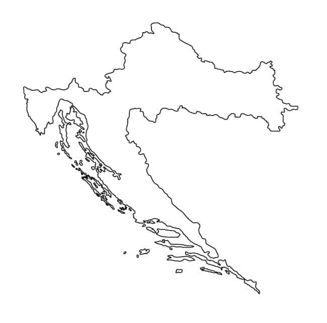 Carte Cote Croatie.Croatie Informations Cartes Du Pays Et Drapeau Croate