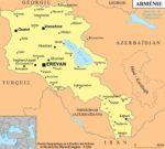 carte armenie
