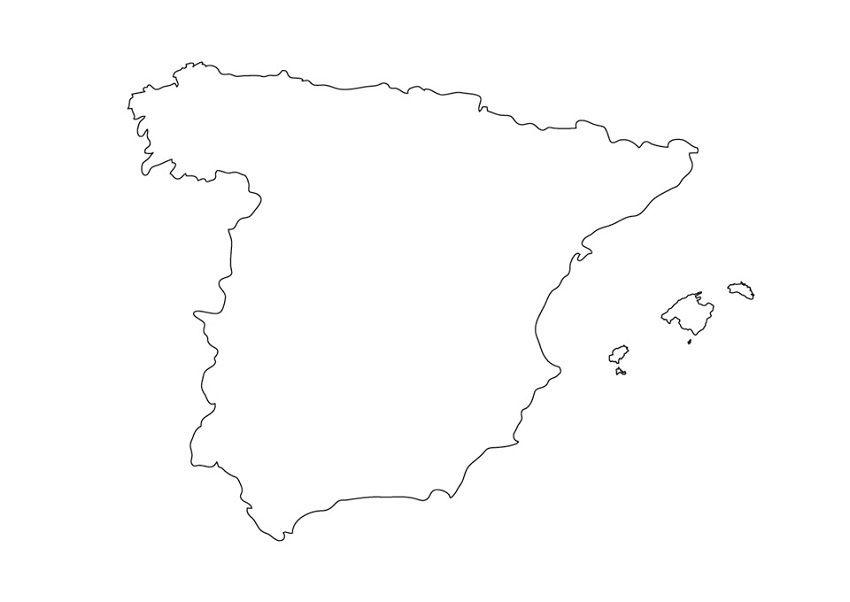 Carte De L  Espagne Avec Les Villes