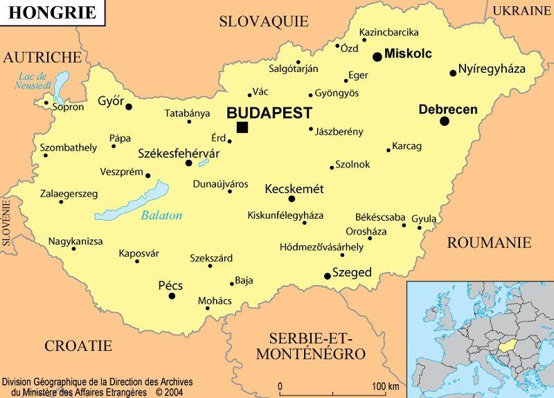 Carte Du Monde Hongrie.La Hongrie Informations Cartes Et Drapeau Du Pays