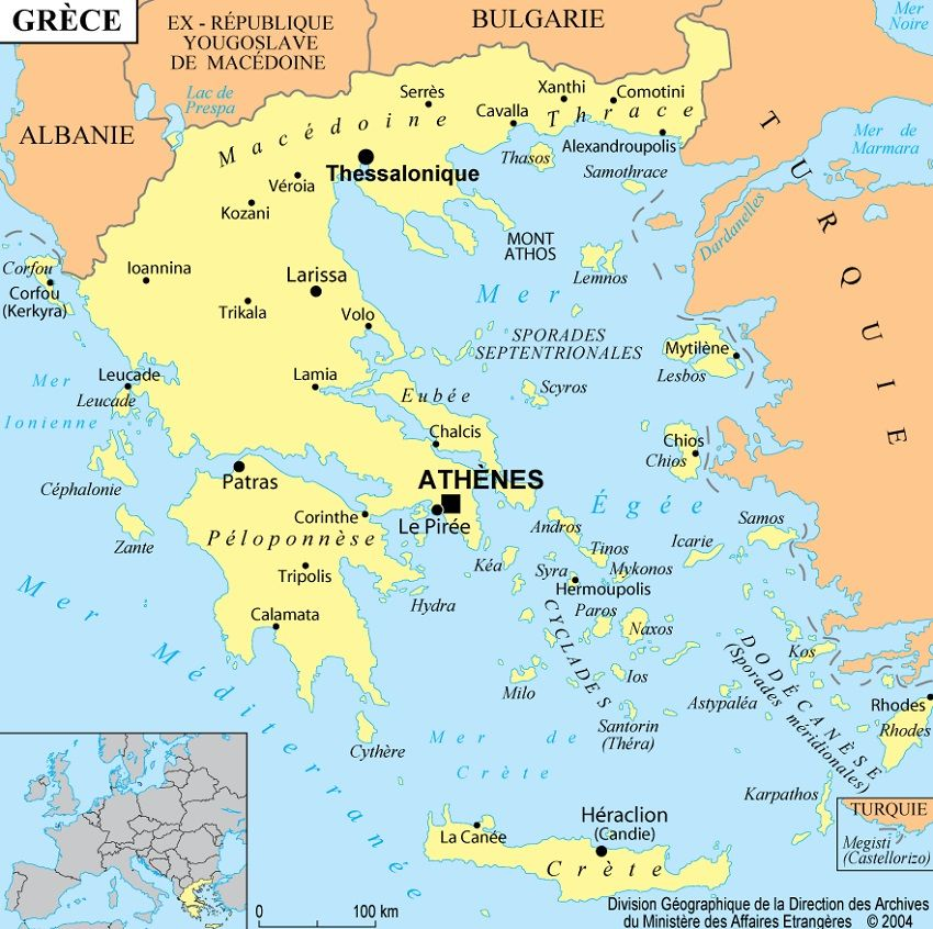 carte-grece - Photos