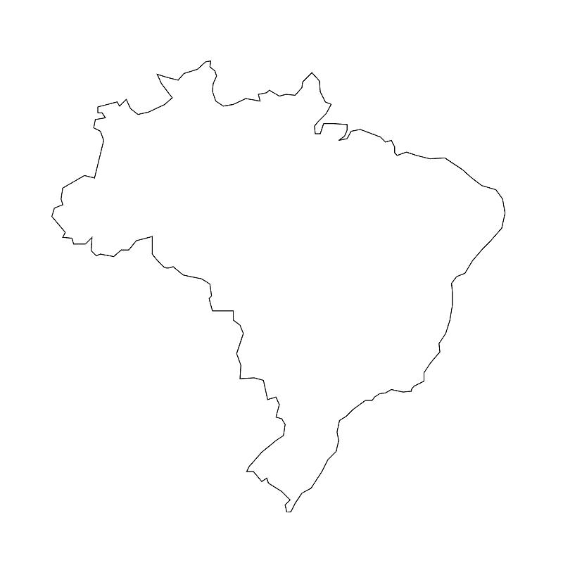 Carte Cote Bresil.Cartes Du Bresil Et Informations Sur Le Pays
