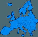 carte Europe vierge