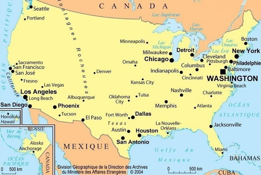 Wonderful États-Unis : informations sur le pays et cartes ZK41