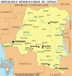 carte republique democratique congo