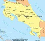 carte Costa Rica